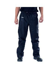 Comfort stretch PU broek (Navy)