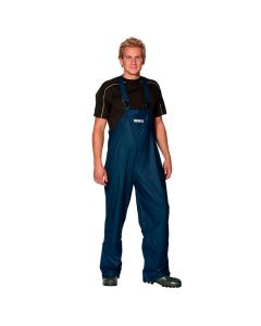 Comfort stretch PU Amerikaanse overall (Navy)