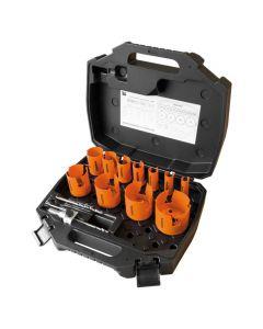 Mandrex Elektricien set TCT MHSE1001N 16mm tot 76mm zeskant 8.5, 15-delig