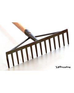 Hark met steel (1500x28mm) 14-tands