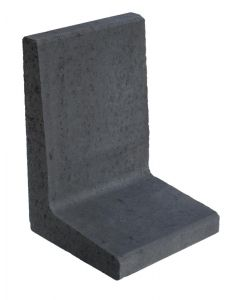 L-element Antraciet 60x40x40 cm