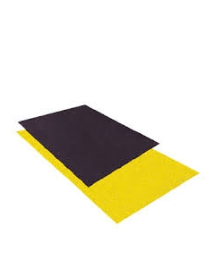 Loopplaat Zwart 1200 mm x 1200 mm