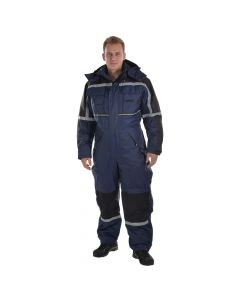 Thermo ademende winter overall (Navy)