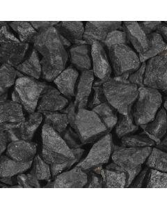 Basalt brokken Antraciet 32-63 mm 25 kg