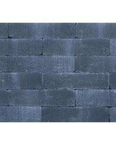 Wallblock Old 12x10x30 cm Antraciet