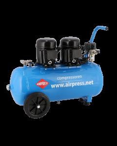 Compressor L 100-50 8 bar 1 pk 80 l/min 50 l