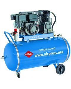 Mobiele Compressor BM BM 50-330 10 bar 5.5 pk 50 l 220 l/min