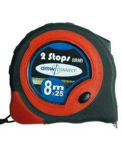 AMW Rolbandmaat Metrisch 8m x25mm