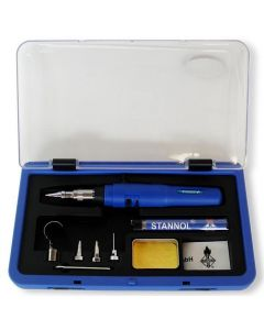 Stannol Gassoldeerset ST70-S in kunststof koffer